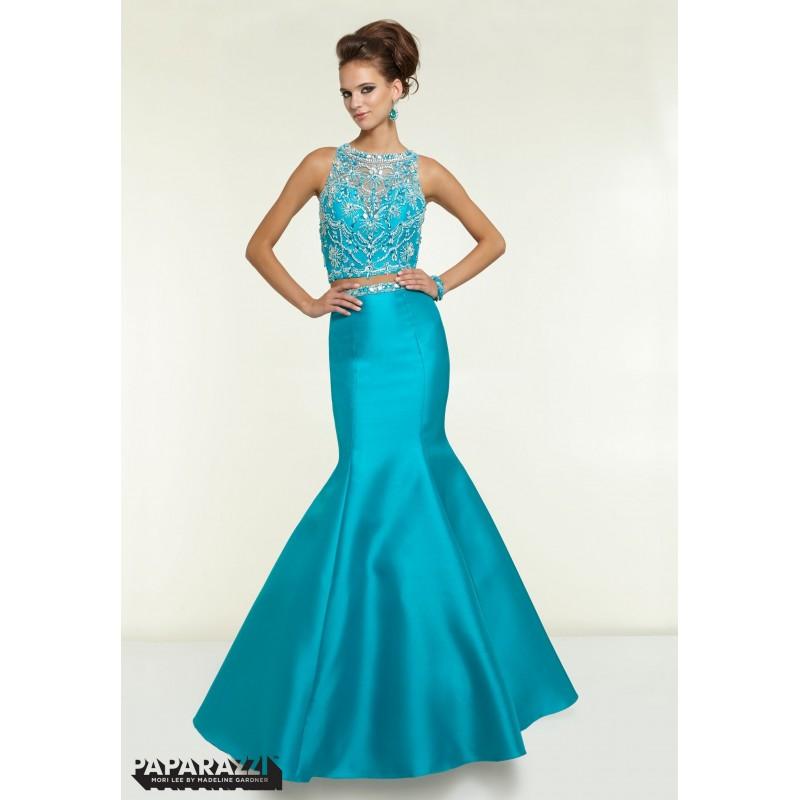 Paparazzi Two Piece Prom Dress Style 97126 - Crazy Sale Bridal ...