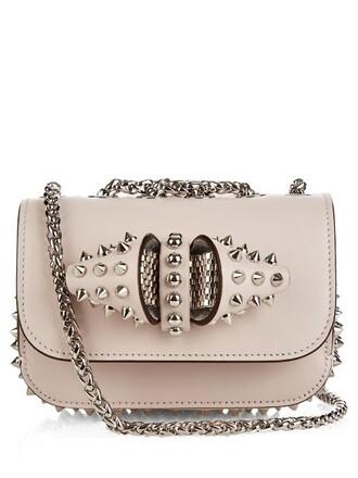 mini shoulder bag mini bag shoulder bag light pink light pink