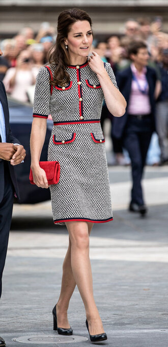 dress kate middleton tweed