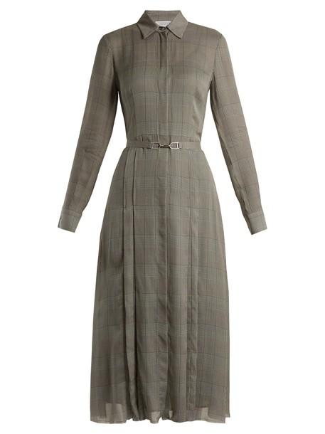 Gabriela Hearst dress silk dress silk grey