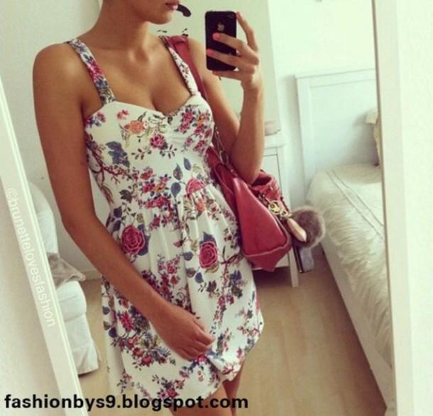 dress floral dress summer dress