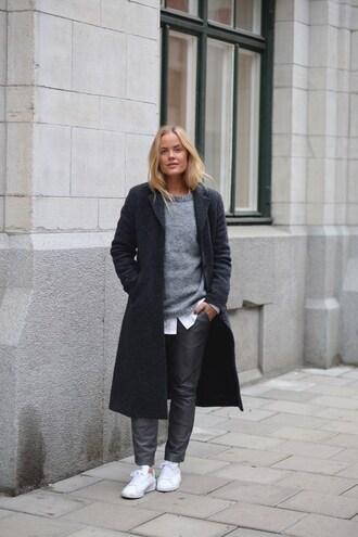 joanna fingal blogger coat shoes bag