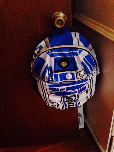 star wars bag r2d2