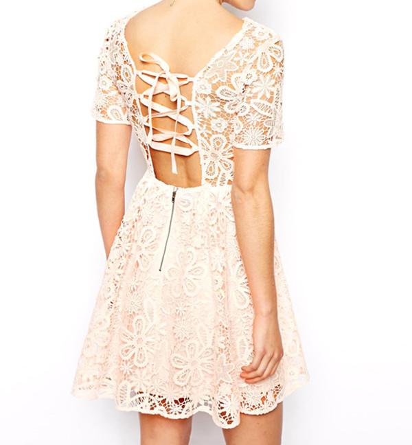 summer dress streetstyle stylemoi skater dress elegant dress dress