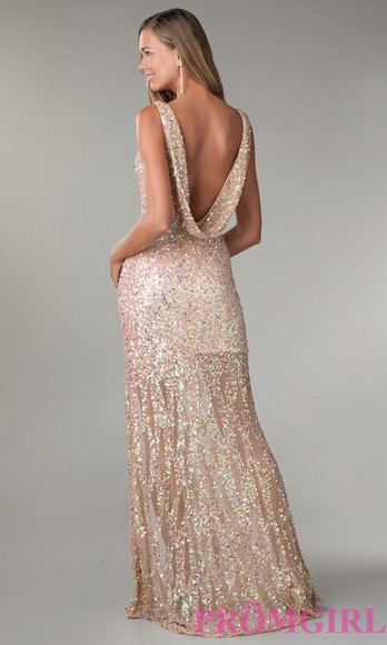 gown prom dress prom dresses 2014 girly findthis sequin dress sequin prom dresses gold gold sequins