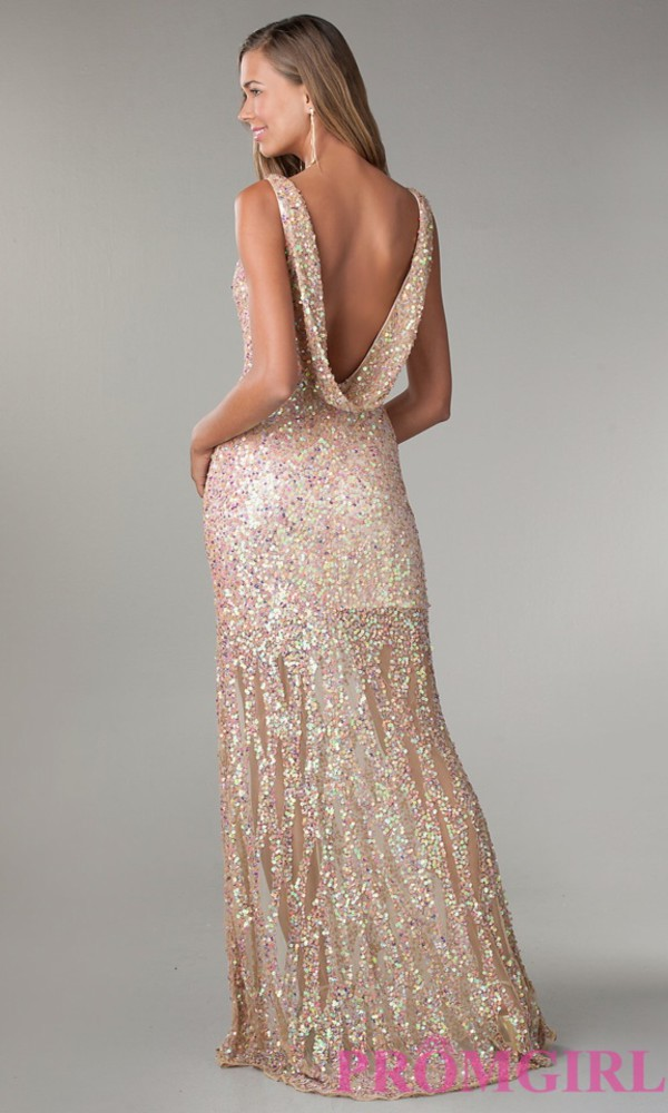 sequin dress sequin prom dress prom dress gown prom dress gold gold sequins findthis girly