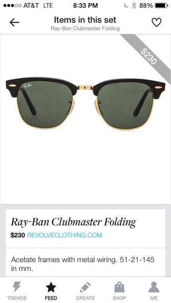 sunglasses black gold loving it stylish