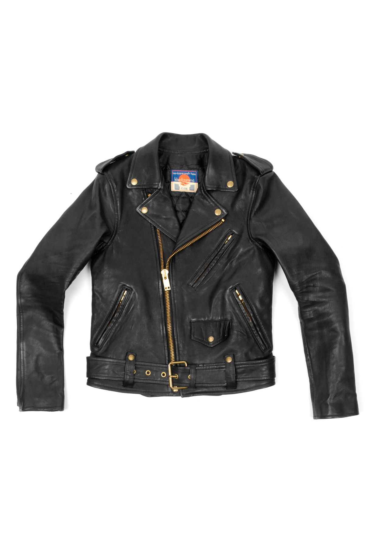 BLACKMEANS MOTO JACKET - WOMEN - OUTERWEAR - BLACKMEANS - OPENING CEREMONY