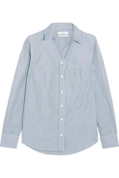 J.Crew shirt navy cotton top