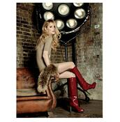 shoes,boots,red
