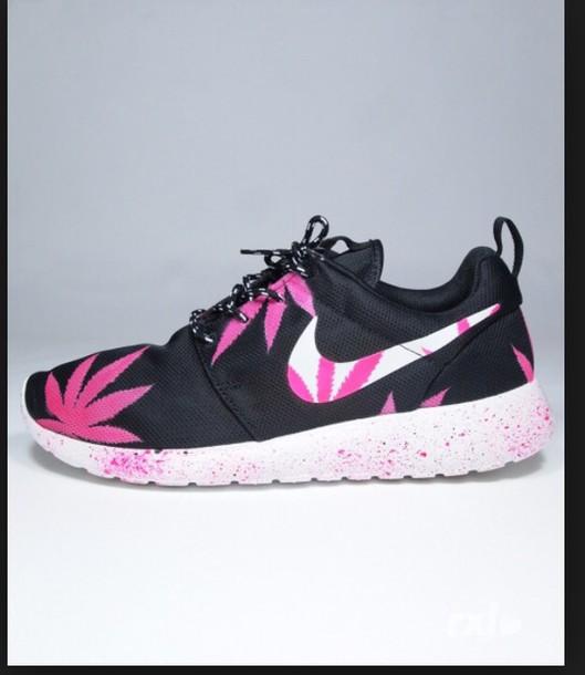 4f936104c75 greece nike roshe run black pink white 82bef 30d5a