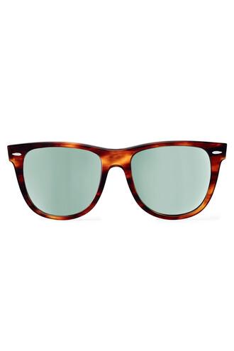 classic sunglasses brown