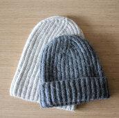hat,beanie,oatmeal hat,rib knit hat,fisherman cap,grey hat,alpaca