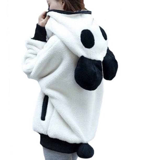 Кофта панда