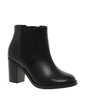 ASOS | ASOS APOCALYPSE Leather Chelsea Ankle Boots at ASOS