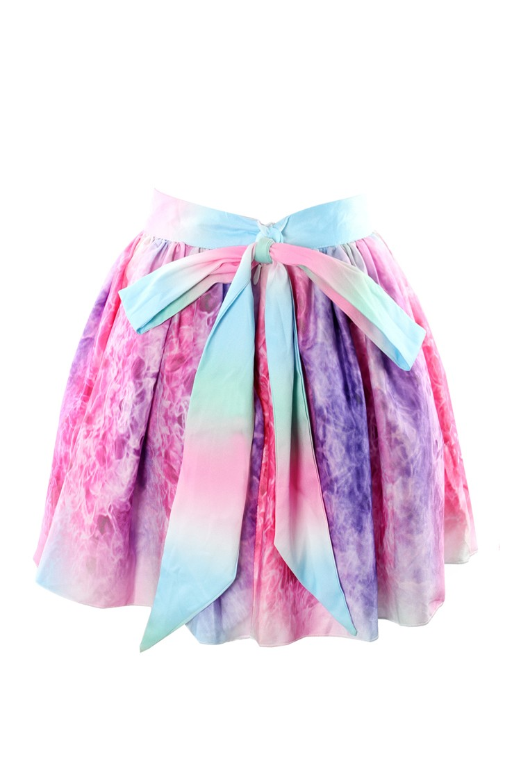 Candy tye dye skirt