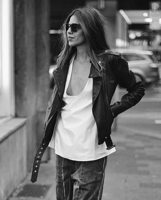 maja wyh blogger leather jacket diesel