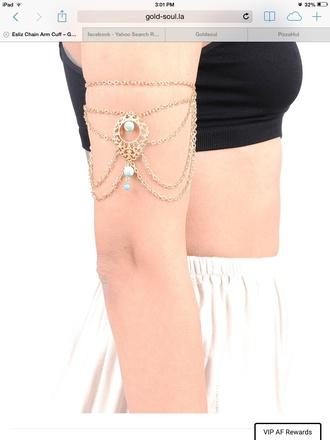 jewels arm cuff arm chain accessories