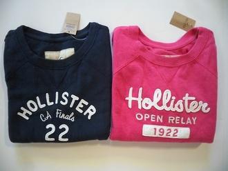 sweater noraasolstad.blogg.no pink blue hollister shirt hollist holliester