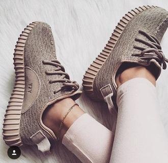 shoes yeezy boost yeezy yeezus europa beige sneakers adidas adidas shoes causal shoes yeezy 350 boost green adidas yeezy