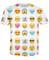 """emoji madness"" sublimation print t"