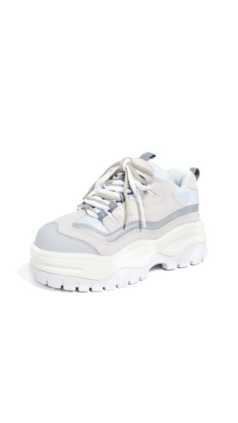 Jeffrey Campbell Pro Era Sneakers in white / multi