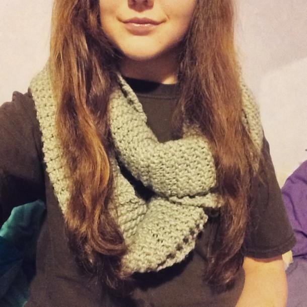 scarf grey scarf