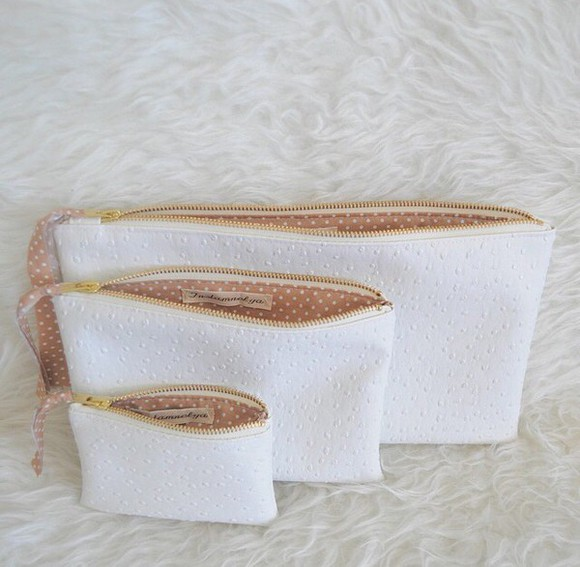 bag white white bag white bags handbag leather bag purse cute accesories