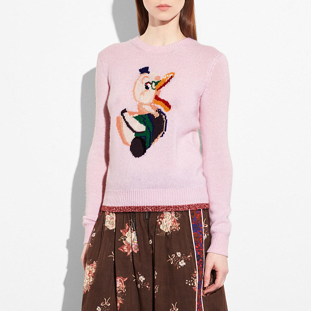 Duck Intarsia Sweater