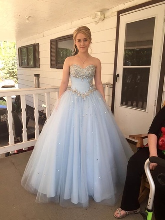 dress blue dress prom dress prom gown prom cinderella