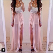 skirt,dress,necklace,long,top,white,crop tops,lace up,lion,chain,choker necklace,trust no one,jewels,shoes,t-shirt,the skirt,and the top,lace,open skirt,pink skirt,tank top,shirt,lace top
