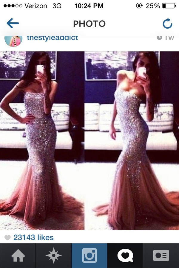 dress sparkly dress prom dress jovani prom dress