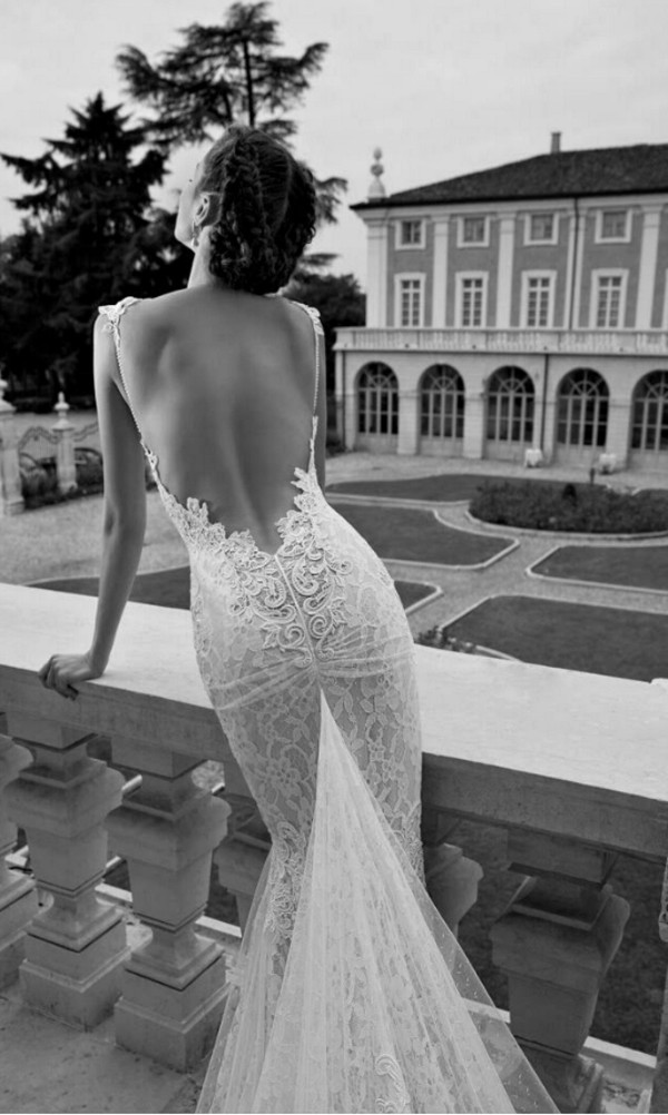 dress wedding dress open back prom dress