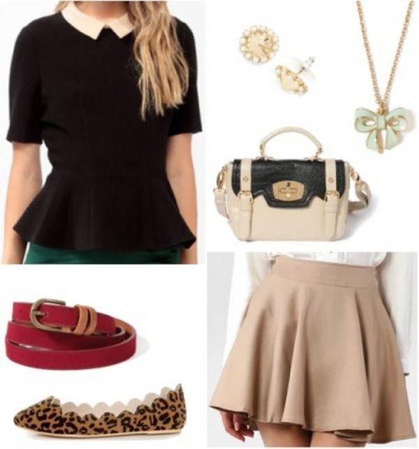 blouse acessories shoes