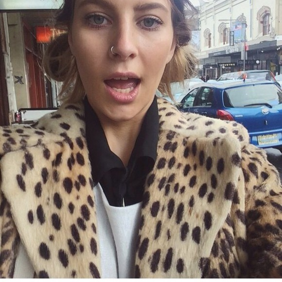leopard print leopard coat hipster indie winter outfits fur fur coat