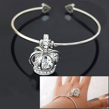 Cycling Jersey, Custom Cycling Jersey, $5.34 Korean Fashion Beautiful Zircon Crown Bracelet  - Free Shipping