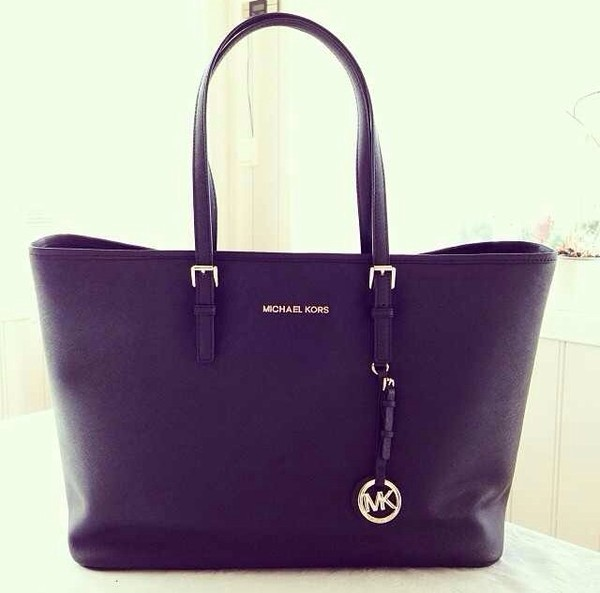 bag michael kors kristine ullebø black leather