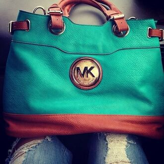 bag michael kors dress micheal kors bag turquoise hnadbag teal brown purse michael kors bag mint. michael kors bag teal handbag leather bag teal bag teal and brown teal brown michael kore's   handbagsgs turquoise and brown leather michael kors tote bag michael kors totes green brown bag blue beautiful bags green
