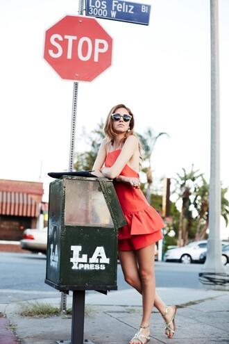 the blonde salad jumpsuit bag sunglasses