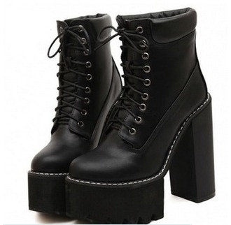 shoes heels boots black shoes ankle boots platform shoes