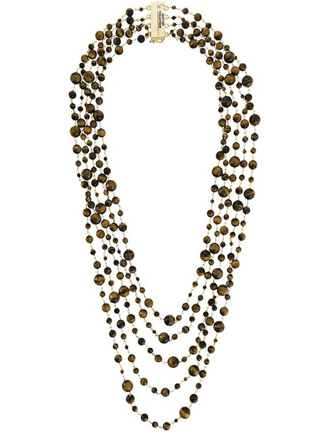 Rosantica 'Orti' necklace - Brown
