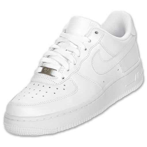 Nike Women's Air Force 1 Low Basketball Shoes | FinishLine.com | White