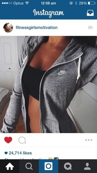 sweater nike grey nike nike sweater hoodie nike hoodie nike tick grey hoodie