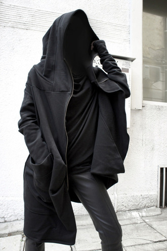 my daily style coat black most wanted sweater oversized sweater hoodie