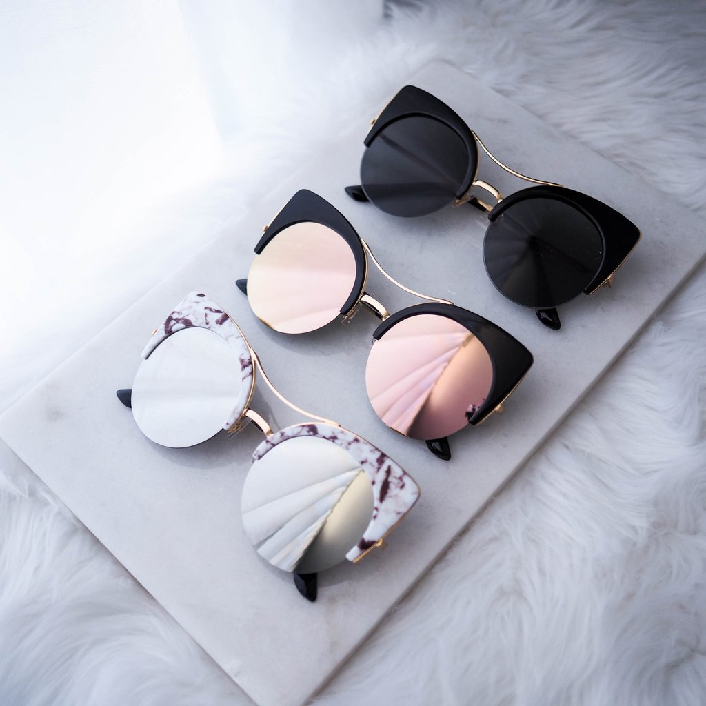 Kosovo Cat Eye Sunglasses