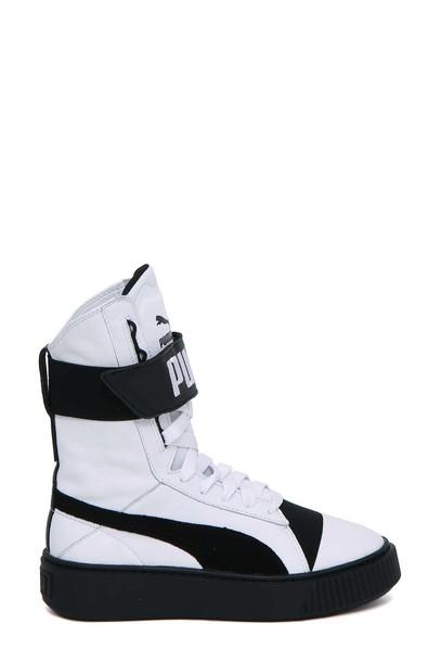 high white black shoes