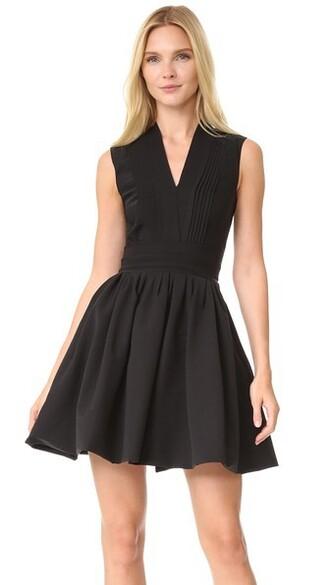 dress cherry black