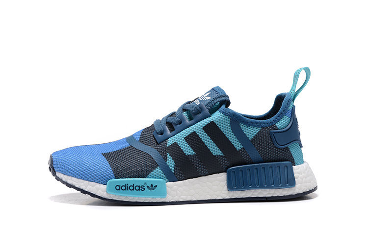 adidas shoes nmd blue. adidas nmd blue multi color custom runing shoes nmd v