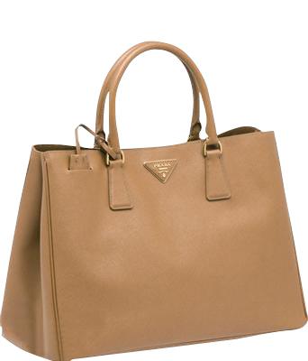 Prada tan leather tote bag bn1844