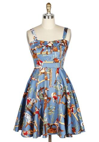print halter dress 50s style vintage dress pin up rockabilly printed dress short dress sexy dress blue dress vintage 50s dresses pinup audrey hepburn retro dress women's dress
